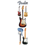 Paper House Productions - Rock Star Collection - 3 Dimensional Cardstock Stickers - Fender