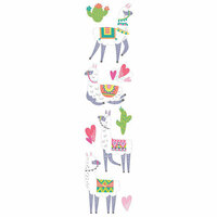 Paper House Productions - 3 Dimensional Stickers - Llamas