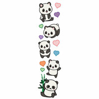 Paper House Productions - 3 Dimensional Stickers - Pandas