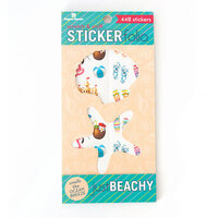 Paper House Productions - Cardstock Stickers - Scratch and Sniff Folio - Just Beachy