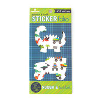 Paper House Productions - Cardstock Stickers - Scratch and Sniff Folio - Rough and Tumble