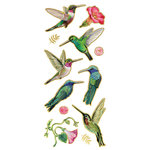 Paper House Productions - Faux Enamel Stickers - Hummingbirds