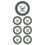 Paper House Productions - Faux Enamel Stickers - U.S. Navy
