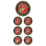 Paper House Productions - Faux Enamel Stickers - U.S. Marines