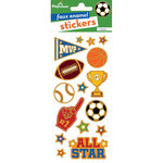 Paper House Productions - Faux Enamel Stickers - Sports