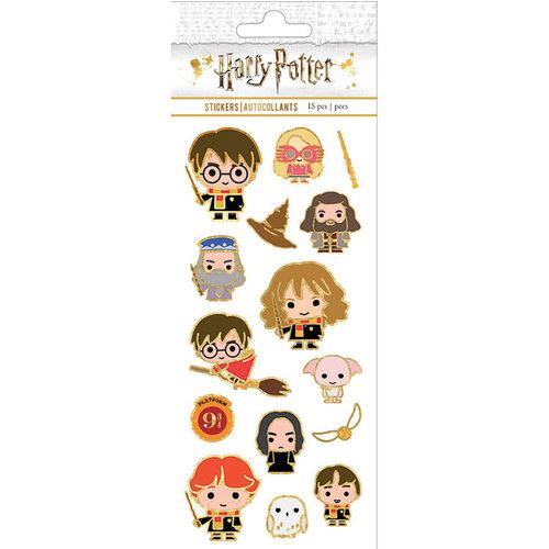 Paper House Productions - Faux Enamel Stickers - Harry Potter - Chibi