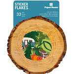Paper House Productions - Flakes - Cardstock Stickers - Outdoors