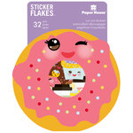 Paper House Productions - Flakes - Cardstock Stickers - Kawaii Not
