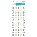 Paper House Productions - Life Organized Collection - Stickers - Weather - Icons