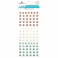 Paper House Productions - Life Organized Collection - Creative Journaling Stickers - Numbers