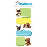 Paper House Productions - Cardstock Stickers - Labels - Playful Puppies