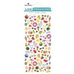 Paper House Productions - Life Organized Collection - Cardstock Stickers - Micro - Summer Fun with Foil Accents