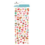 Paper House Productions - Life Organized Collection - Cardstock Stickers - Micro - Valentines with Foil Accents
