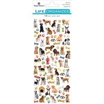 Paper House Productions - Cardstock Stickers - Micro - Dog with Foil Accents