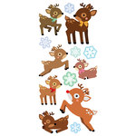 Paper House Productions - Christmas -Puffy Stickers - Reindeer