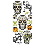 Paper House Productions - Halloween - Puffy Stickers - Skeletons