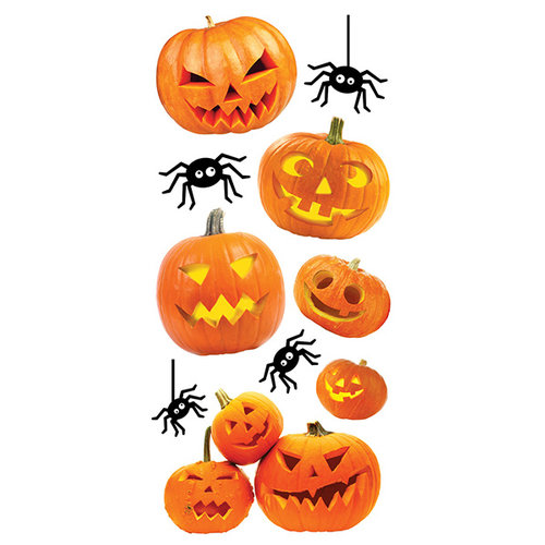 Paper House Productions - Halloween - Puffy Stickers - Jack O