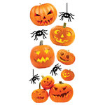 Paper House Productions - Halloween - Puffy Stickers - Jack O'Lanterns