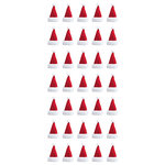Paper House Productions - Christmas - Puffy Stickers - Santa Hats