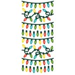 Paper House Productions - Sculpted - Puffy Stickers - Christmas Lights