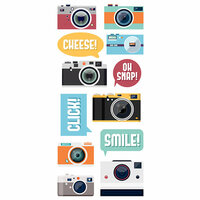 Paper House Productions - Puffy Stickers - Cameras