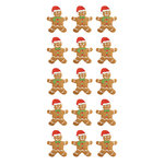 Paper House Productions - Christmas - Puffy Stickers - Gingerbread