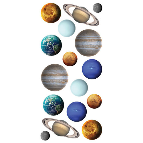 Paper House Productions - Puffy Stickers - Planets