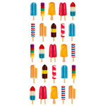 Paper House Productions - Puffy Stickers - Popsicles