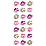 Paper House Productions - Home Front Girl Collection - Puffy Stickers - Kiss Me Camo
