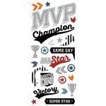 Paper House Productions - Puffy Stickers - MVP