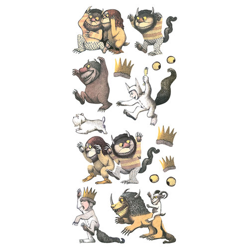 Paper House Productions - Puffy Stickers - Where the Wild Things Are