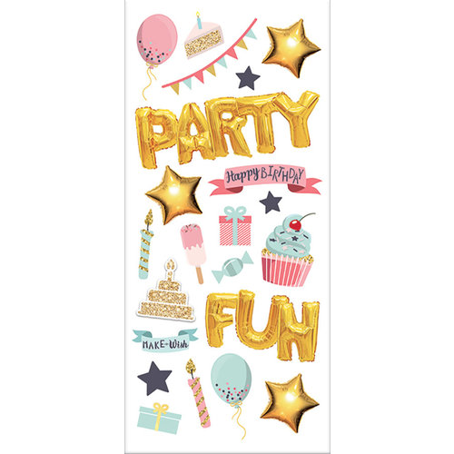 Paper House Productions - StickyPix - Puffy Stickers - Party