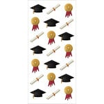 Paper House Productions - StickyPix - Puffy Stickers - Graduation