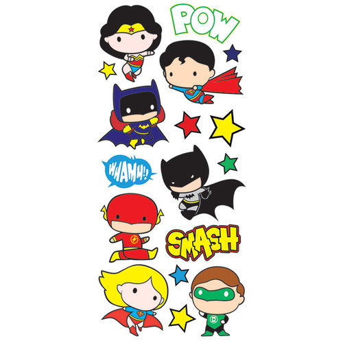 Paper House Productions StickyPix Justice League Chibi