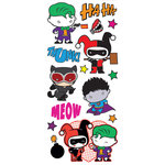 Paper House Productions - StickyPix - Puffy Stickers - Justice League - Chibi Villains