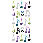 Paper House Productions - StickyPix - Puffy Stickers - Musical Notes