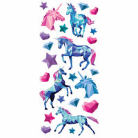 Paper House Productions - StickyPix - Puffy Stickers - Unicorn