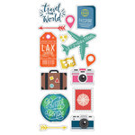 Paper House Productions - Puffy Stickers - Around the World
