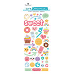 Paper House Productions - Life Organized Collection - Puffy Stickers - Kawaii with Foil Accents
