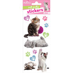 Paper House Productions - Soft Puffy Stickers - Kittens