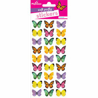 Paper House Productions - Soft Puffy Stickers - Butterflies
