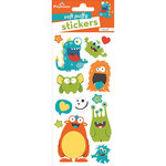 Paper House Productions - Soft Puffy Stickers - Monsters