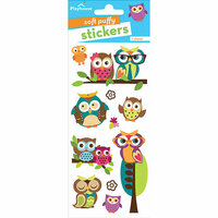Paper House Productions - Soft Puffy Stickers - Owls