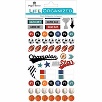 Paper House Productions - Cardstock Stickers - Planner - Sports