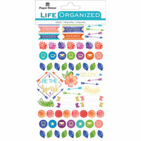Paper House Productions - Cardstock Stickers - Planner - Live Bold