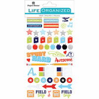 Paper House Productions - Cardstock Stickers - Planner - School
