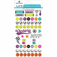 Paper House Productions - Cardstock Stickers - Planner - Sports for Girls