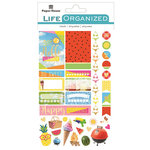 Paper House Productions - Life Organized Collection - Cardstock Stickers - Labels - Summer Fun