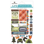 Paper House Productions - Life Organized Collection - Cardstock Stickers - Labels - Outdoors
