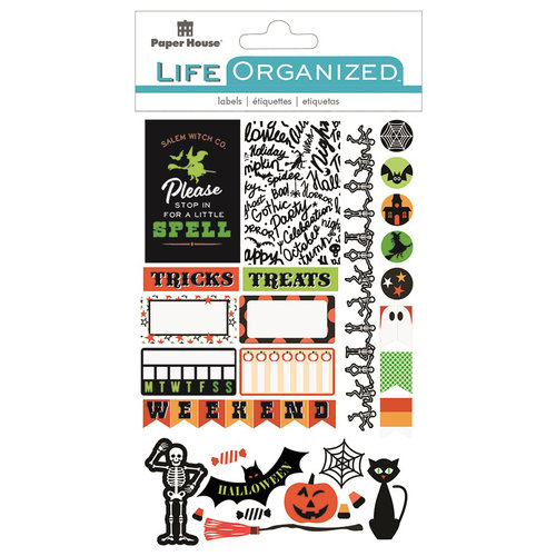 PHP Life Organized Cardstock Labels